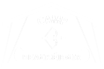 logo camp beausejour blanc